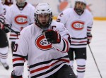 Men's Hockey Tops #1 Minnesota, Earns Split on Weekend