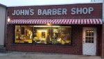 A Foley Man Crashes Into John's Barber Shop This Weekend