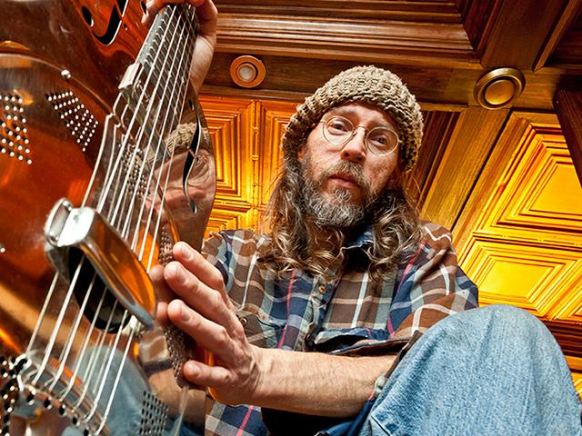Charlie Parr performs at KVSC Concert